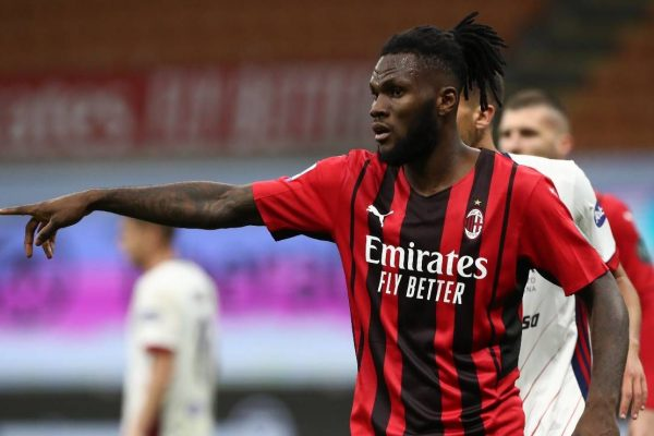 Kessie returns to Milan immediately after being eliminated from the Olympics